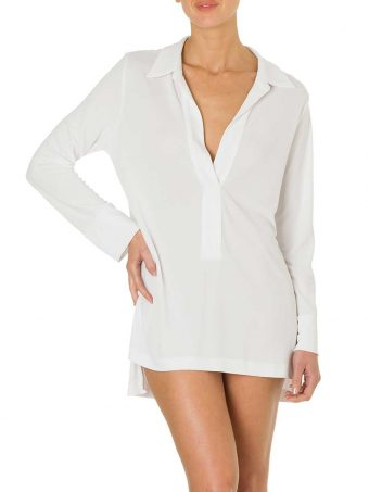 Polo Jersey Bianco-0