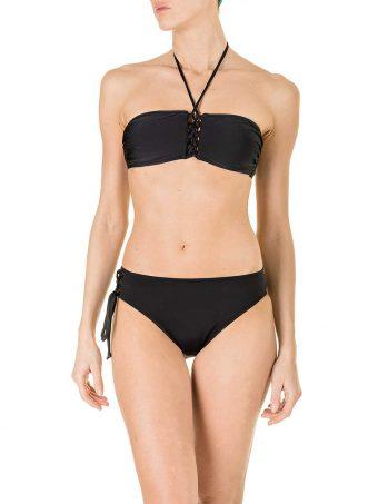 MK08 Bikini Corsetto Nero F