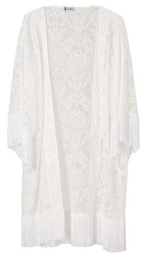 Kimono Athena Pizzo Bianco-7081