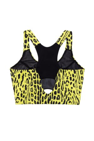 Top Crop Animalier