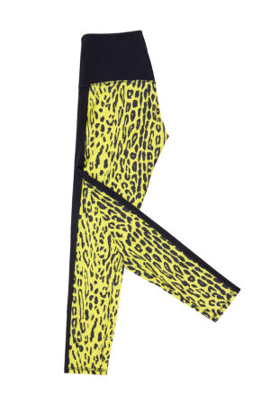 Leggins Animalier Yellow